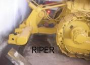 Vendo tractor de cadena d8h caterpillar con riper,  contactarse.