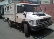 Se vende ambulancia equipada iveco. contactarse.