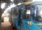 Vendo o cambio autobus o camioneta de pasajero, contactarse.