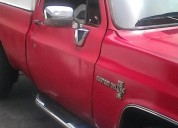 Linda camioneta c10 con cava año 83