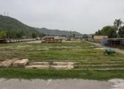 Terreno de 3 hectarea en plena via