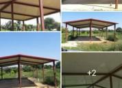 Estructura se vende 12 tubos de construcción de bases para casa