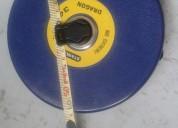 Excelente cinta metrica de 50 mts. marca stanley