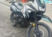 Vendo excelente moto kawasaki klr 650