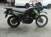 Se vende excelente moto kawasaki klr650 2014