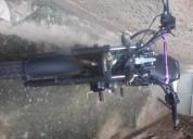 Se vende excelente moto quipai color morada y unica