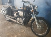 Linda moto cruiser honda shadow slascher