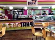 Venta de negocio de comida japonesa
