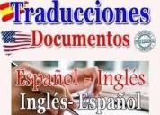 Traducciones de inglÉs a espaÑol.
