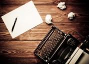 Redacción de contenidos y revisión de textos, oportunidad!.