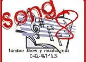 Grupo de tambores song 8 tambor show. contactarse.