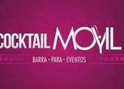 Cocktaill movil barra para eventos, contactarse.