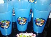 Oportunidad!. cotillones infantiles vaso con sorbete