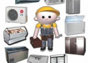 Servicio tecnico de refrigeracion a domicilio