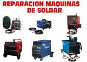 ReparaciÓn de maquinas de soldar, microondas, tv lcd.