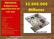 Adquiera su apartamento de  60m² por 35millones