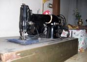 Máquina de coser industrial recta de singer