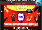 Fumigacion domesticas en maracaibo 04146535347