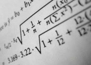 Clases particulares de matemáticas financieras