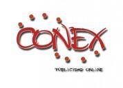 Conex, tu ayuda, con la publicidad de tu empresa