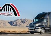 Transporte de carga pesada alquiler a nivel nacional