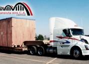 Transporte y logística de carga sobredimensionada nivel nacional. alquiler