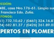 Empresa de plomeria en maracaibo las 24 horas y días feriados