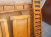 Cama duplex de madera  usada buen estado remato