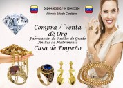 Compra oro valencia carabobo
