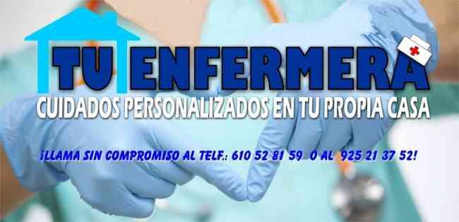 servicio integral de enfermeria a domicilio
