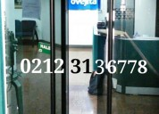 ' reparacion mantenimiento puertas de vidrio, templado, ventanas panoramicas, frenos rif9-3233