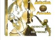 Detective privado en guarico venezuela