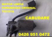 Orozco de venezuela  motor limpia parabrisa