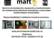 Técnico electricista caracas servicios en caracas