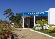 Venta de hotel casa viento playa el yaque isla de margarita
