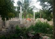 Venta de excelente parcela con casa en construccion