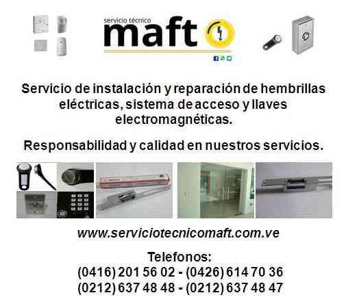 Instalación Reparación hembrillas puertas Caracas