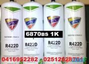 Gas refrigerante  para nevera r22 134a 04169522822