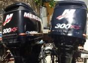 Fuera de borda mercury 300xs optimax 2 tiempo