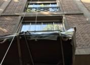 Mudanzas por fachadas, balcones, volados.