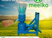 Peletizadora meelko 260 mm 35 hp pto para concentr