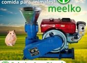 Peletizadora meelko 150 mm 8 hp diesel para concen