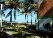 Vendo o cambio apartamento en la playa a 100 mts de la orilla con vista al mar 2 dormitorios