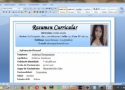 Busco empleo en maracaibo