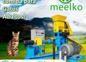 Extrus.meelko pellets alimentación perros-gatos60