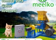 Extrusora meelko pellets aliment. perros y gatos