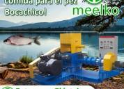 Extrusora meelko pellets flotantes para peces 500