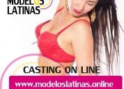 Reconocida agencia solicita modelos