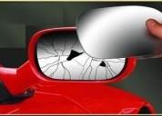 Venta cristal de retrovisor para autos.