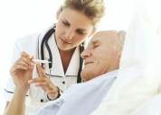 Cuidado geriatrico , con masoterapia